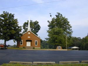 54 - Caney Fork Baptist Church - Temple Hill, KY, Barren County