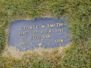 George W. Smith - Temple Hill Baptist Church Cemetery - Temple Hill, KY