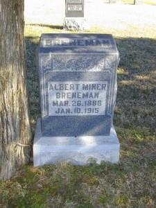 Albert Miner Breneman  - Ryan Township Cemetery, Sumner County, Milan, Kansas