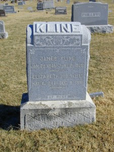 James & Elizabeth (Conver) Kline