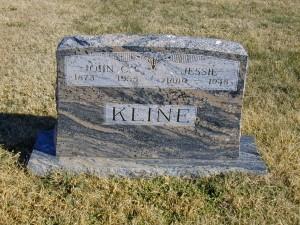John & Jessie (Wood) Kline