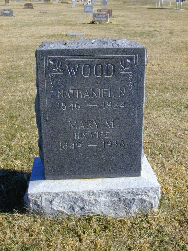 Nathaniel and Mary McMulin Wood