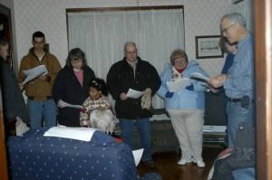 Church Caroling Party
