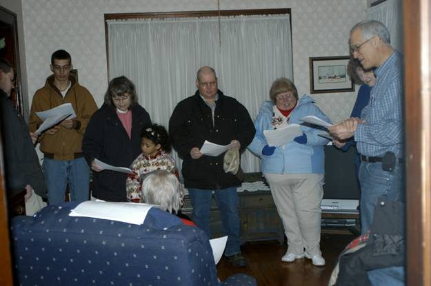 Church Caroling Party