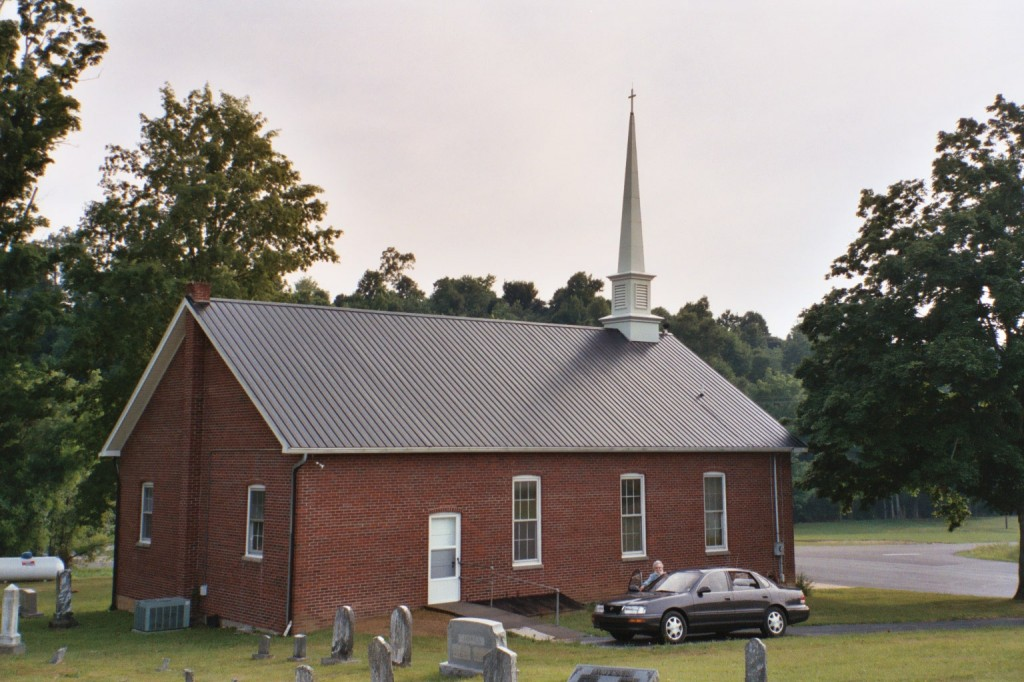 Caney Fork Baptist Church - Temple Hill, Barren County, Kentucky