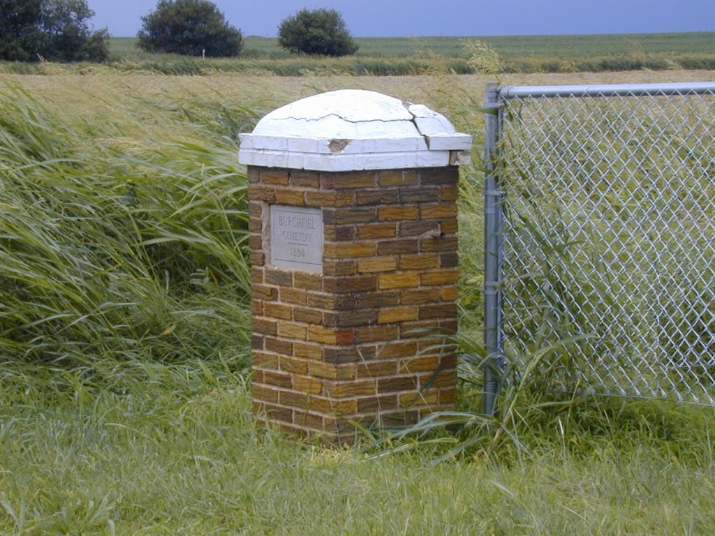 Burchfield Cemetery Signpost