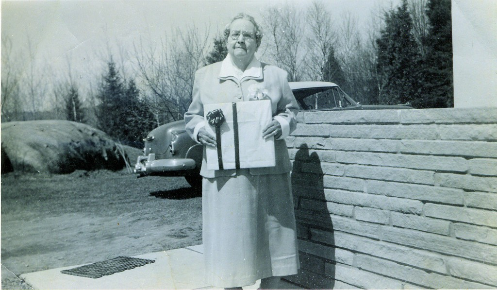 May Breneman Jones Willey - age 79 in 1958