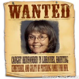 "Wanted"" poster for Shery Stocking Kline"