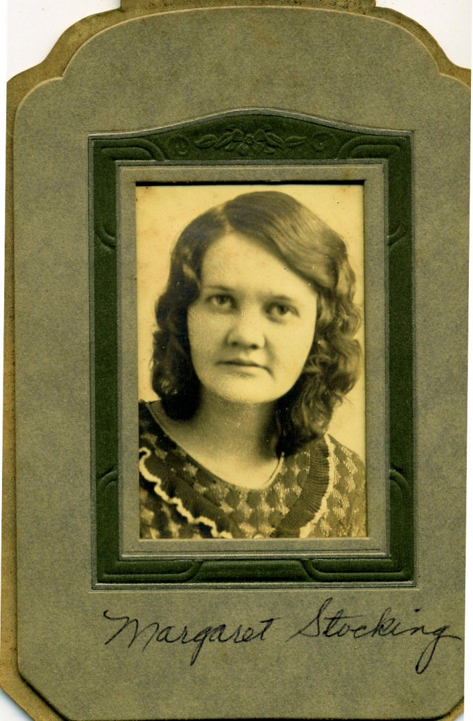 "Margaret Ethel ""Peggy"" Stocking Glaze"